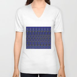 Spiral Ball Stereogram Unisex V-Neck