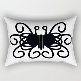 Pastafarian Flying Spaghetti Monster Rectangular Pillow