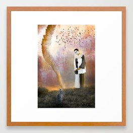The Fool on the Hill Framed Art Print