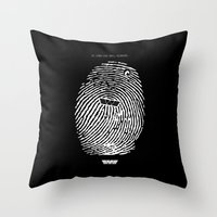 prometheus Throw Pillows featuring Prometheus. by IIIIHiveIIII
