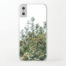 Red Fruit Clear iPhone Case