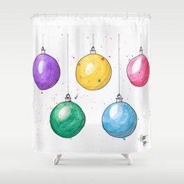 Hangin' Balls Shower Curtain