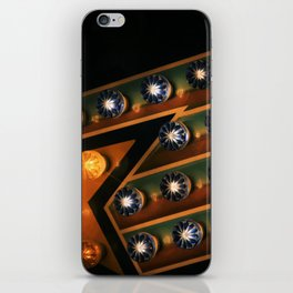midway lights iPhone Skin