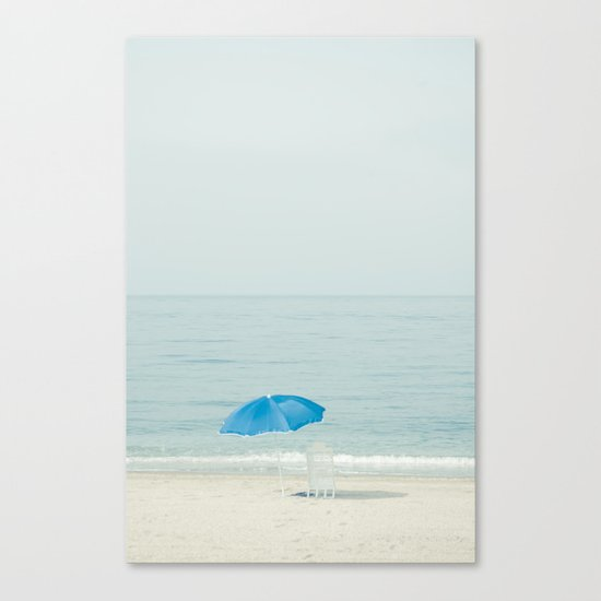 verano azul Canvas Print