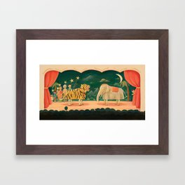 The Play by Emily Winfield Martin Framed Art Print