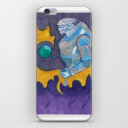 Galaxy Garrus iPhone Skin