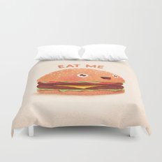 Burger Duvet Cover