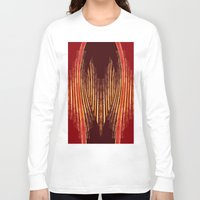 ikat Long Sleeve T-shirts featuring INDY IKAT by Sherylcolour