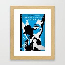 Hardboiled :: The Maltese Falcon :: Dashiell Hammett Framed Art Print