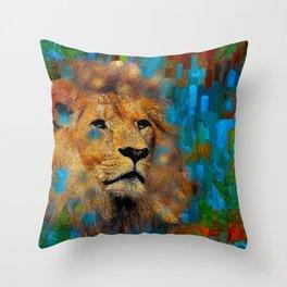 LION Throw Pillow