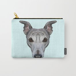 Whippet // Pastel Blue Carry-All Pouch