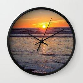 Sunrise over the Atlantic Wall Clock