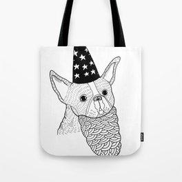 Dog Wizard Tote Bag
