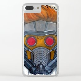 Star Lord Clear iPhone Case