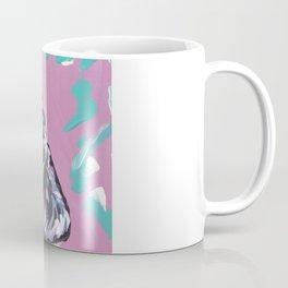 fun English Cocker Spaniel bright colorful Pop Art painting by Lea Coffee Mug