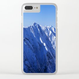 Shapes of Mountain Clear iPhone Case