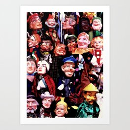 Puppetry Art Print