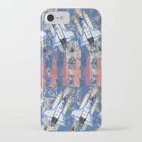 rocket iPhone & iPod Cases featuring Rocket by AnnaW