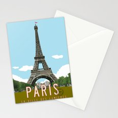 Paris 2 Travel Poster Stationery Cards