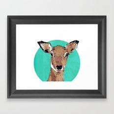 Deary Me Framed Art Print