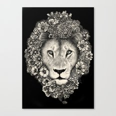King of Blooms 2 Canvas Print