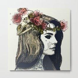 Lana ART Metal Print