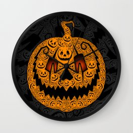 Jack of 1,000 Faces Wall Clock