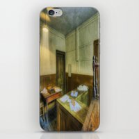 the office iPhone & iPod Skins featuring Antique Office by Ian Mitchell