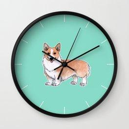 Pembroke Welsh Corgi dog Wall Clock