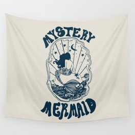 MYSTERY MERMAID Wall Tapestry