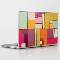 robin hood Laptop & iPad Skins featuring hood by sylvie demers