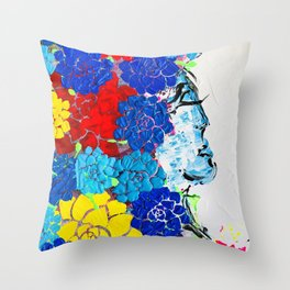 Love set free Throw Pillow