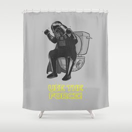 Use The Force! Shower Curtain