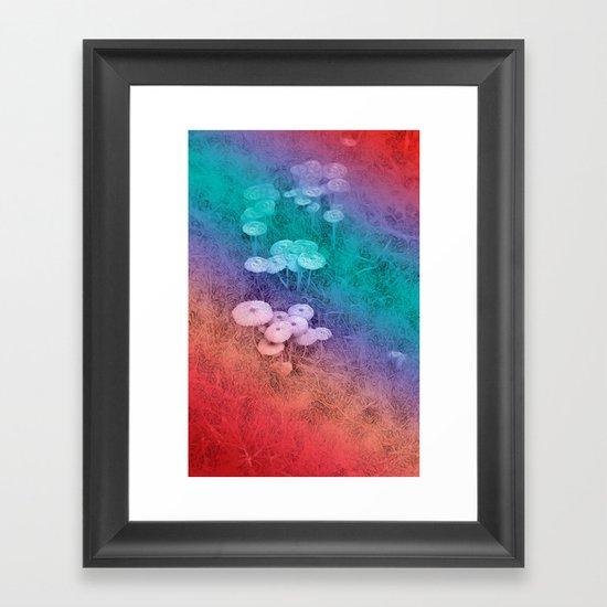 In the Fairy Wood Framed Art Print