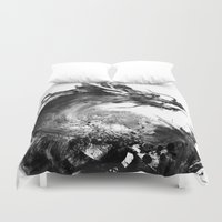 dragon Duvet Covers featuring Dragon by Jonathan Keuchkarian
