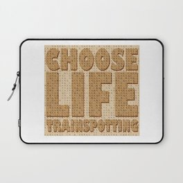 Choose Life Laptop Sleeve