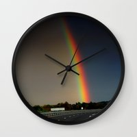 wonderland Wall Clocks featuring Wonderland by kreatox