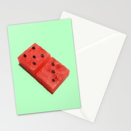 WATERMELON DOMINO Stationery Cards
