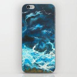 Blue Symphony iPhone Skin