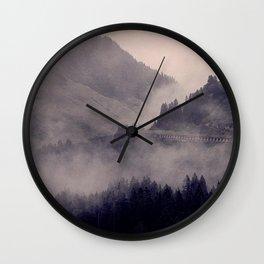 HIDDEN HILLS Wall Clock