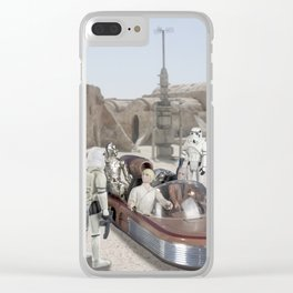 Stopped By Stormtroopers Clear iPhone Case