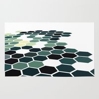 california Area & Throw Rugs featuring California by Bakmann Art
