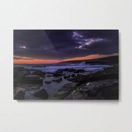 Stormy Coast - Augusta Metal Print