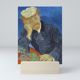 Vincent van Gogh - Doctor Paul Gachet (1890) Mini Art Print