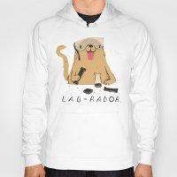 lab Hoodies featuring lab-rador by Louis Roskosch