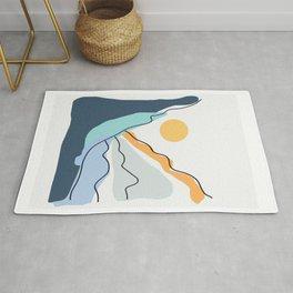 Minimalistic Landscape II Rug
