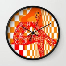 Mod - Red Wall Clock