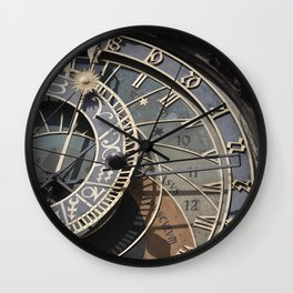 Astronomical clock Prague Wall Clock