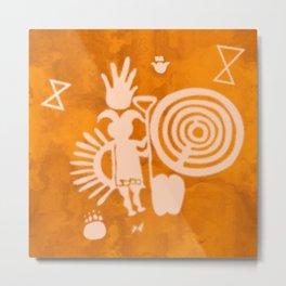 Petroglyphs 2 Metal Print