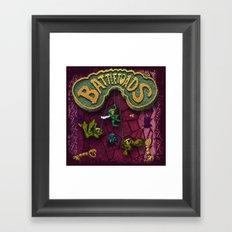 ToadBattles Framed Art Print